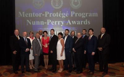 NEDC accepts Nunn-Perry Award from Raytheon Company