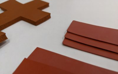 Silicone Press Pads, Reinforced Press Pads | Die-Cut