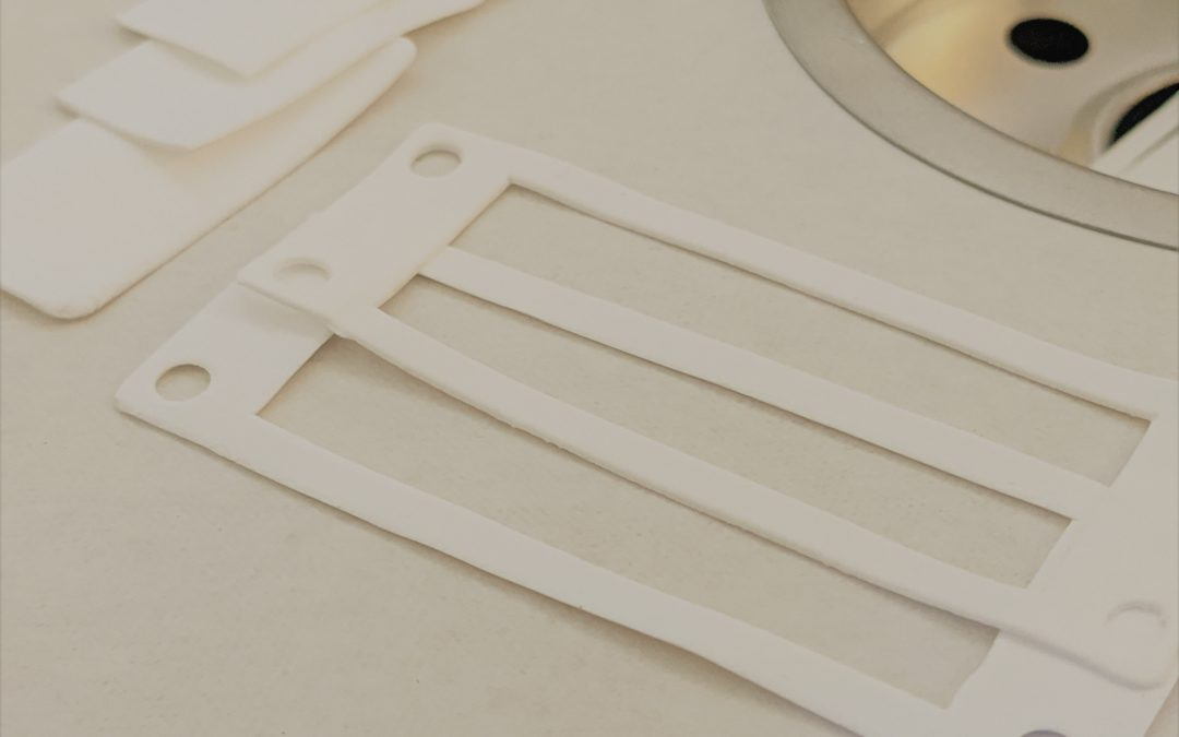 Expanded PTFE, ePTFE | Custom Gaskets | Die Cutting
